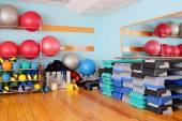 Interior exercise room — Stock Photo