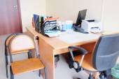 Empty doctor's room — Stock Photo