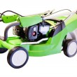 Green lawn mower — Stock Photo #66022861