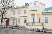 Building of the Sberbank in  Kozelsk — Stock Photo