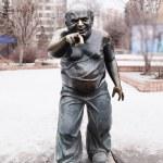 ������, ������: Monument Yevgeny Leonov in Moscow