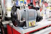 Closeup grinder machine — Stockfoto
