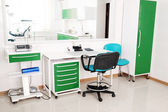 Desk doctor in dental clinic — Zdjęcie stockowe