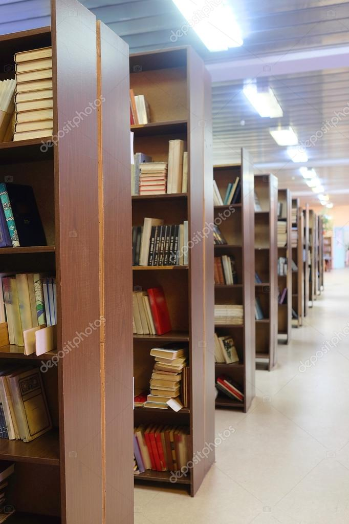 Library Setting With Books