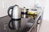 Close-up electric kettle — Stock Photo