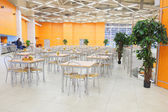 Interior of  cafe in Crocus City Mall — Stock Photo