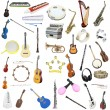 Different music instruments — Stock Photo #70774105