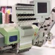 Textile weaving machine — Stock Photo #71663125
