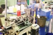 Textile weaving machine — Foto de Stock