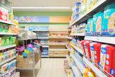 Supermarket Pyaterochka in Moscow — Stock Photo
