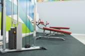Modern interior of  fitness club — Stock Photo