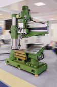 Metal-working machine object — Stock Photo