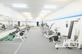 Interior of  fitness gym — Stock Photo