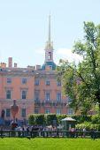 Ingenerniy  palace in Sankt-Peterburg — Stock Photo