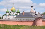Monastery of Saint Euthymius in Suzdal — Stock Photo