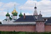 Monastery of Saint Euthymius in Suzdal — Stock Photo