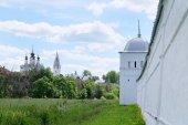 Pokrovsky monasterio en suzdal — Foto de Stock