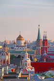 View of  center of Moscow, Russia — Photo