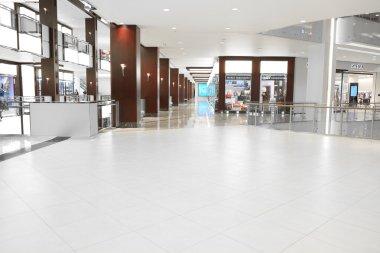 Interior of the Crocus City Mall