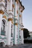 Building of the Winter Palace  in St. Petersburg — Stock Photo