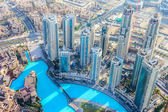 DOWNTOWN DUBAI — Stockfoto