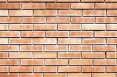 Tanné des vieux mur de brique rouge — Photo