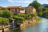 Fontaine de Vaucluse, Provence, France — Stock Photo