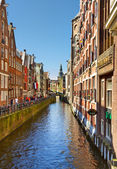 Amsterdam canal — Foto Stock