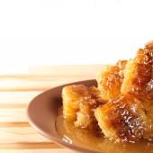 Bienenwabe mit honig — Stockfoto