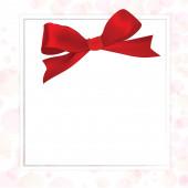 Błyszczące czerwone wstążki satynowe — Zdjęcie stockowe