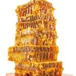 zoete honingraten met honing — Stockfoto #55584691