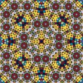 Mosaic seamless pattern. — Stock Vector