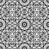 Black and white seamless pattern. — Stock Vector