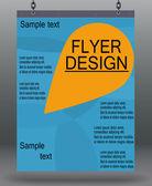 Flyer business. — Stock Vector