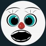 Emoticon surprise. — Stock Vector #77957816
