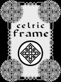 Frame in Celtic style  — Stock Vector