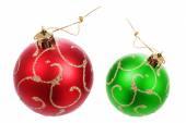 Belle palle di Natale — Foto Stock