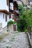 Medieval Lane in Veliko Tarnovo — Stock Photo