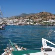 Sailboats in the Port of Bodrum — Stock Photo #55725943
