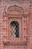 Window of the Krutitsy Patriarchal Metochion — Stock Photo