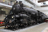 Vintage train in Museum — Stockfoto