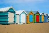 Melbourne beach houses — Stock Photo