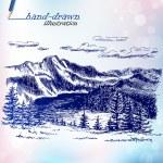 Picturesque landscape — Stock Vector #53444653