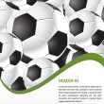 Football poster — Stock Vector #53445123