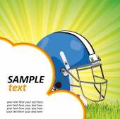 Americký fotbal plakát — Stock vektor