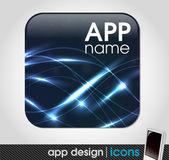 Blank app icon — Stockvektor