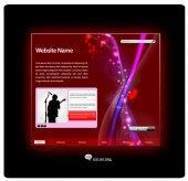 Plantilla de diseño de sitio web — Vector de stock