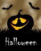 Cadılar bayramı tatil parti afişi — Stok Vektör