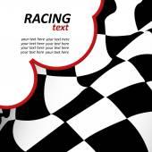 Racing background — Stock Vector