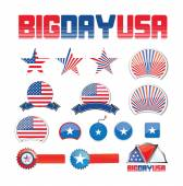 American design set — Stock Vector